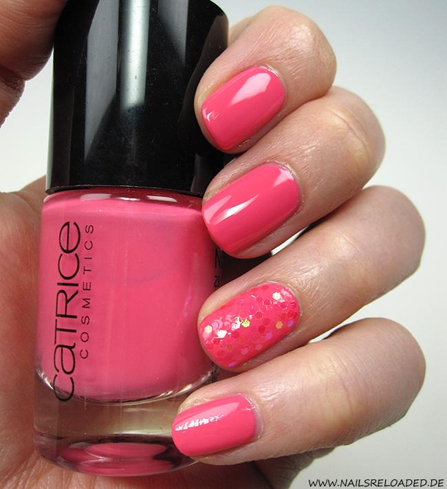 Nails Reloaded - Nageldesign Pink Glitter