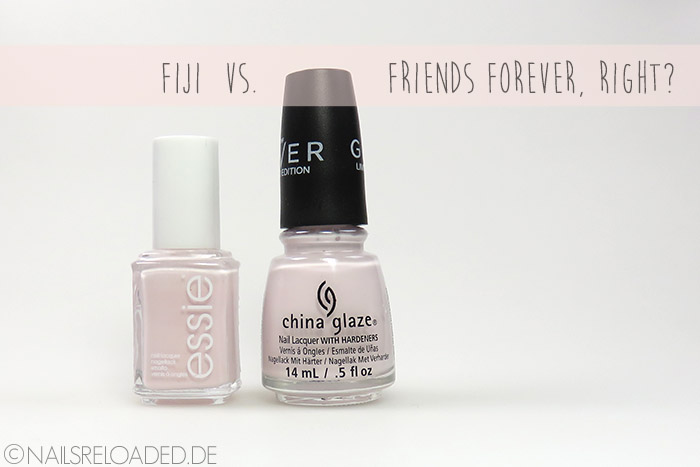 Fiji vs. Friends Forever, Right?