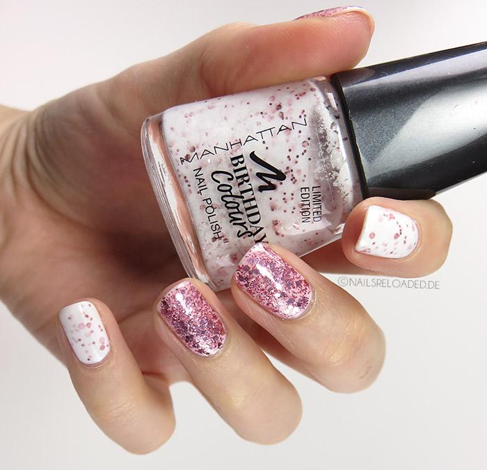 Nageldesign - mixed rosé