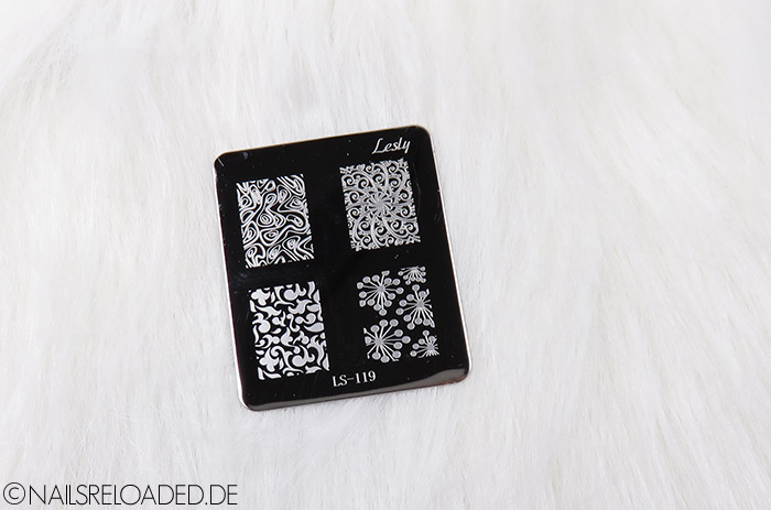 Lesly LS-119 Stamping Platte