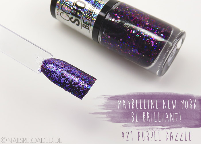 Maybelline New York - 421 purple dazzle