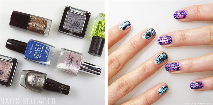 Nagellack-Shopping und Distressed Nails