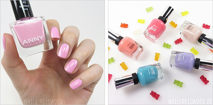 Anny - endless love und Frühlings Limited Edition von Sally Hansen