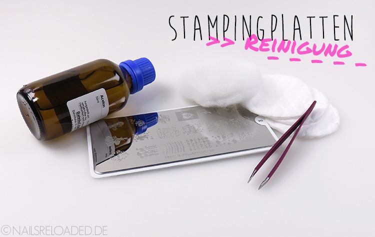 Tutorial - Reinigung von Stampingplatten