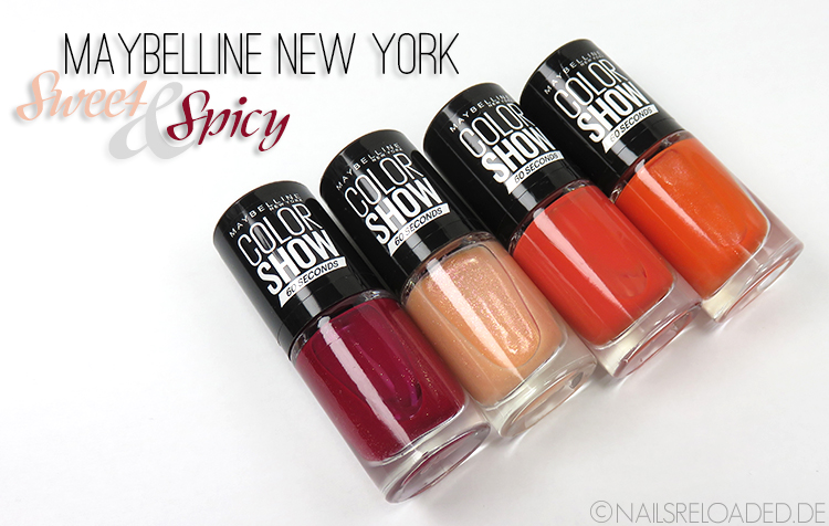 Maybelline New York - Sweet & Spicy Limited Edition