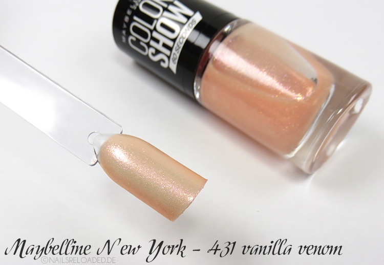 Maybelline New York - 431 vanilla venom