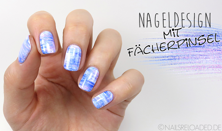 Nageldesign mit Fächerpinsel