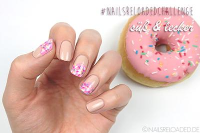 #nailsreloadedchallenge süß & lecker