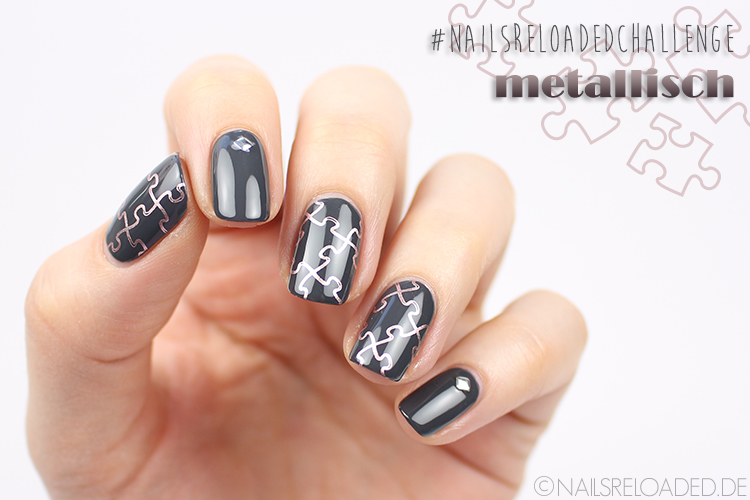 Nageldesign - metallisch