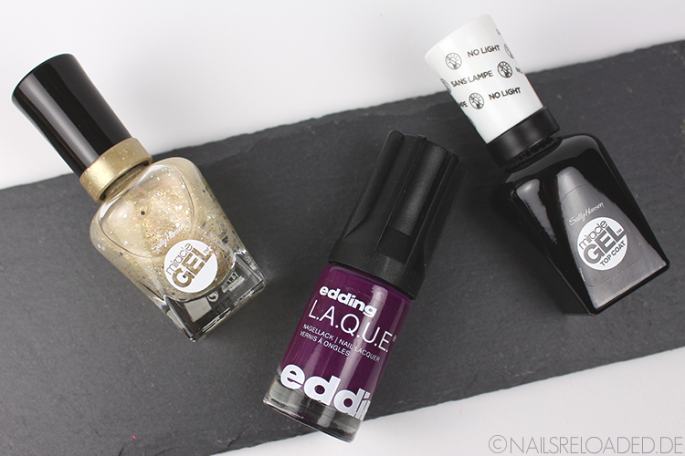 Sally Hansen - For the Thrill - edding L.A.Q.U.E - versatile violet