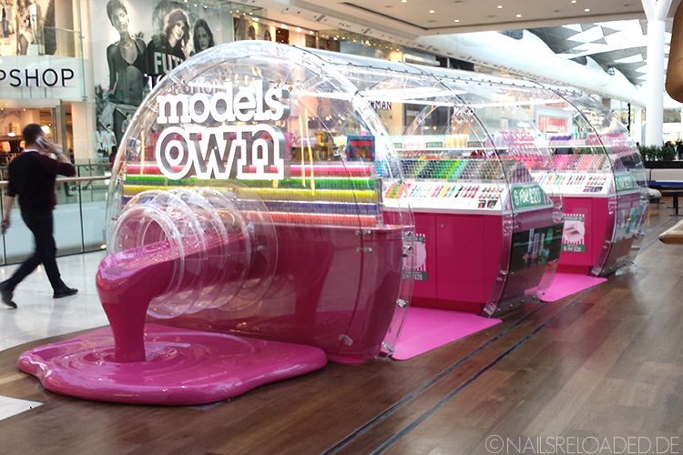 Models Own - bottle shop - Westfield Shopping Center London