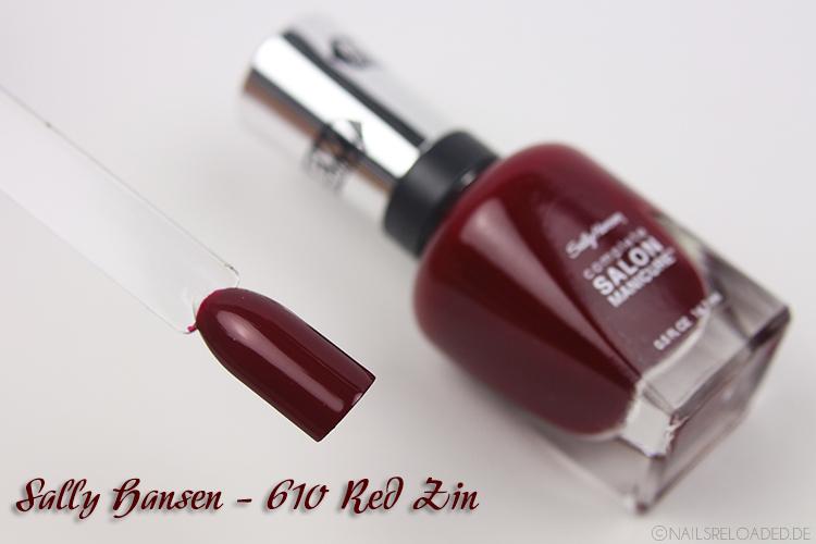 Sally Hansen - 610 Red Zin