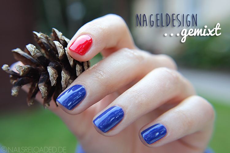 Nageldesign ...gemixt
