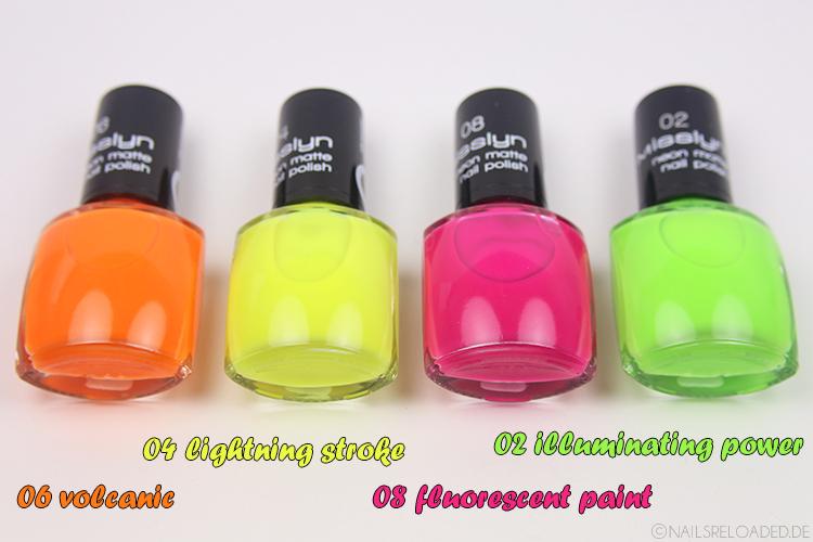 Misslyn neon matte Nagellack