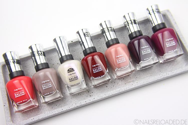 Sally Hansen Complete Salon Manicure Nagellacke