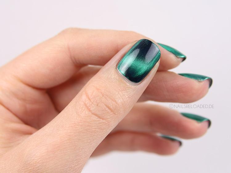 nagellack magnetisch masura mint and basil