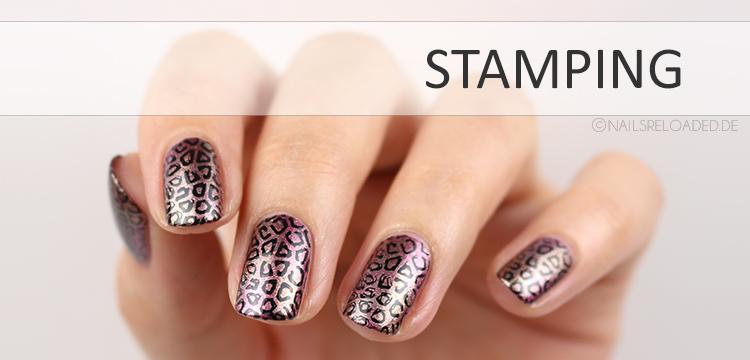 Nageldesign - Stamping