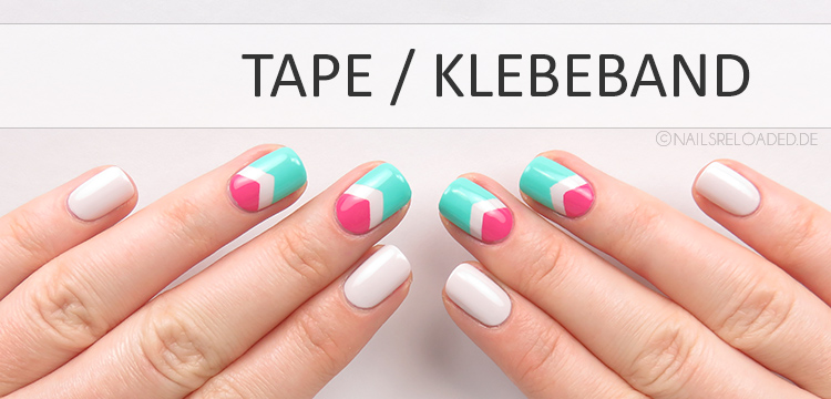 nageldesign tape klebeband
