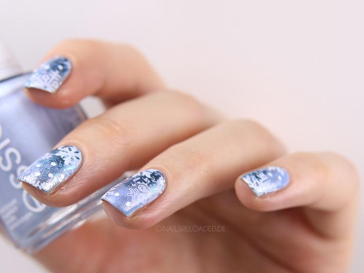 Schneeflocken Nägel