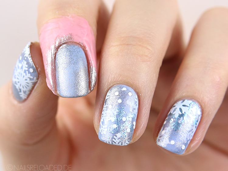 Nageldesign Tutorial Winter