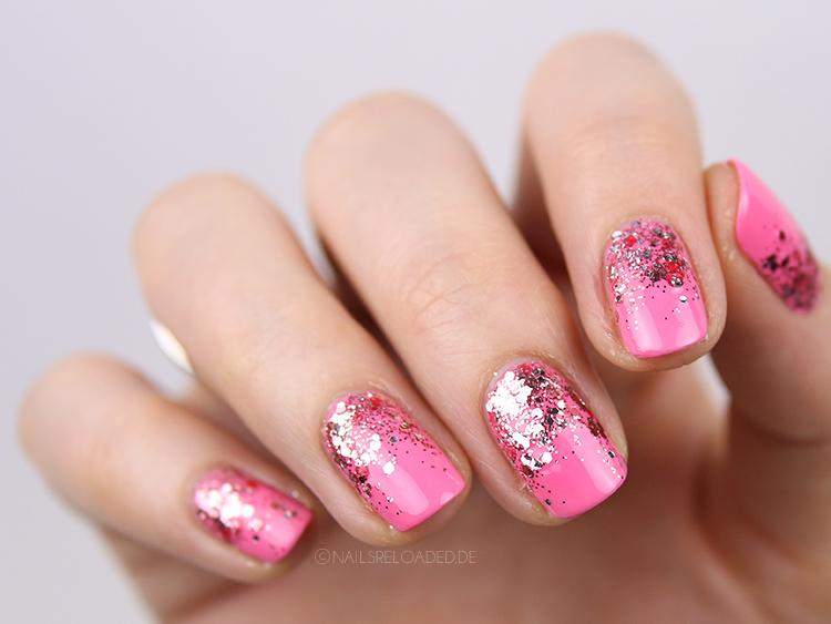 Nails Reloaded - Nailsreloaded-challenge // Glitter Gradient Nageldesign