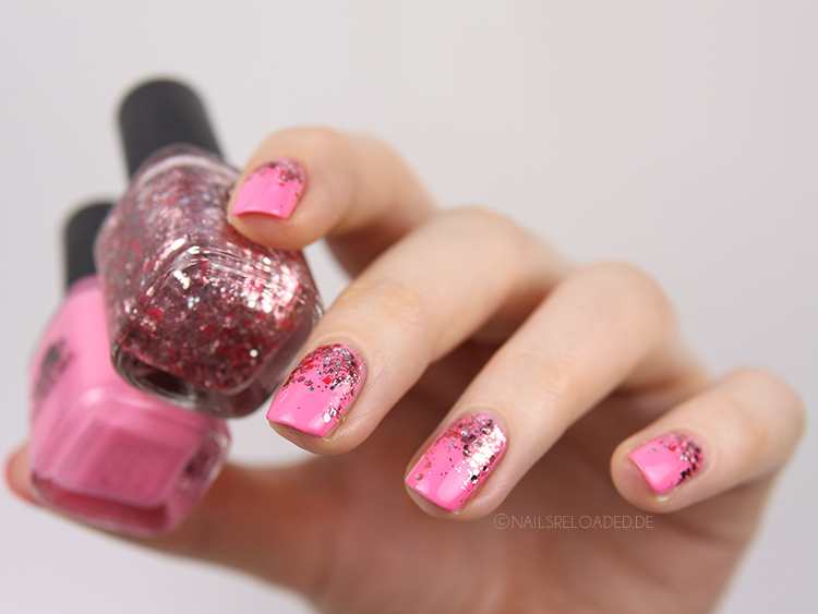 nails reloaded nailsreloaded challenge glitter gradient nageldesign. Black Bedroom Furniture Sets. Home Design Ideas