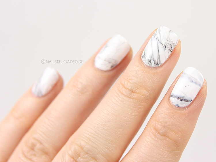 Marmor Nägel selber machen