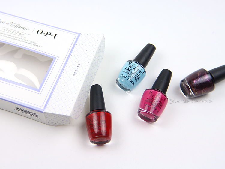 OPI Breakfast at Tiffanys Kollektion
