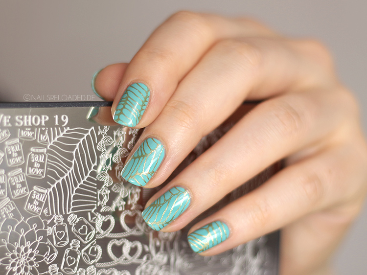 Stamping Schablone Creative Shop 19