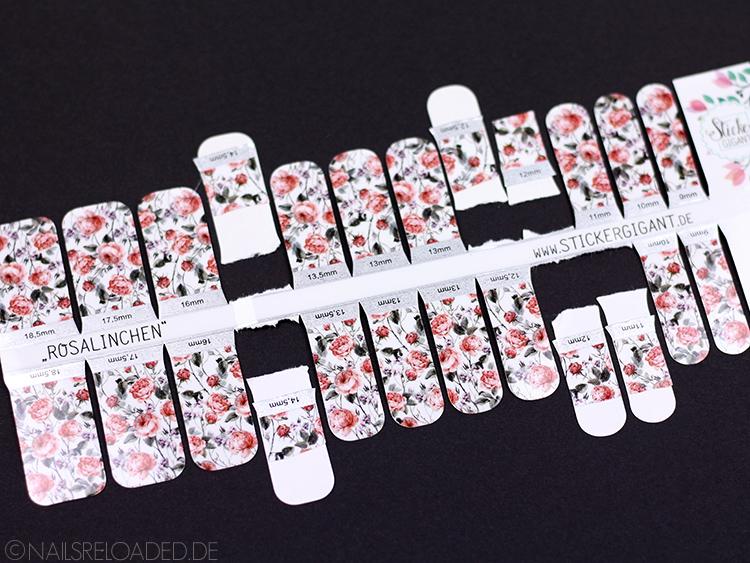 Sticker Gigant Rosalinchen Reste