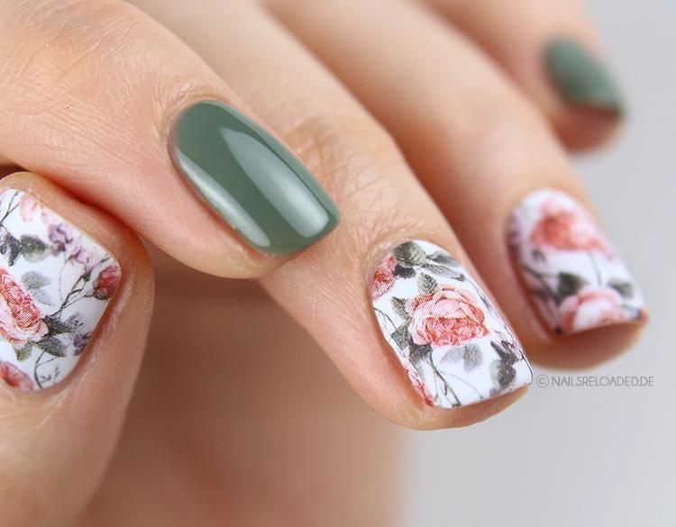 Nagelsticker Rosalinchen