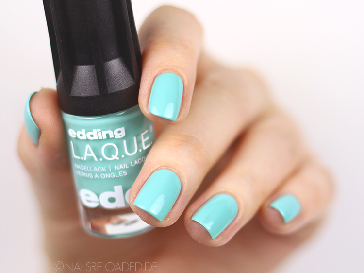 edding LAQUE green aquamarine