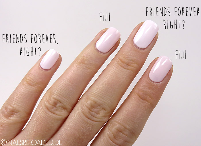 Fiji vs. Friends Forever, Right?