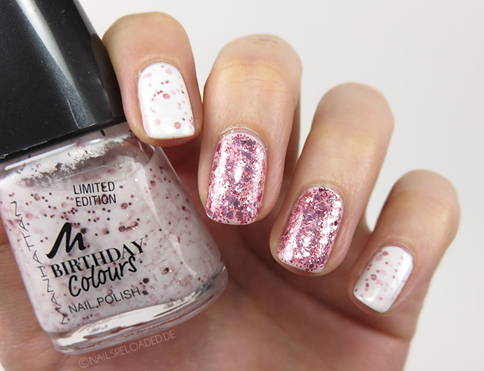 Nageldesign - mixed rosé