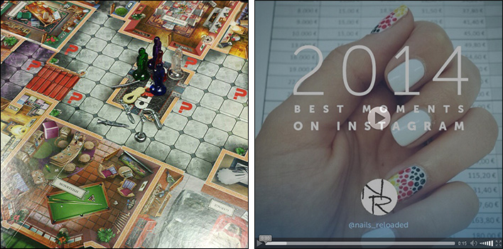 Cluedo und Instagram 2014
