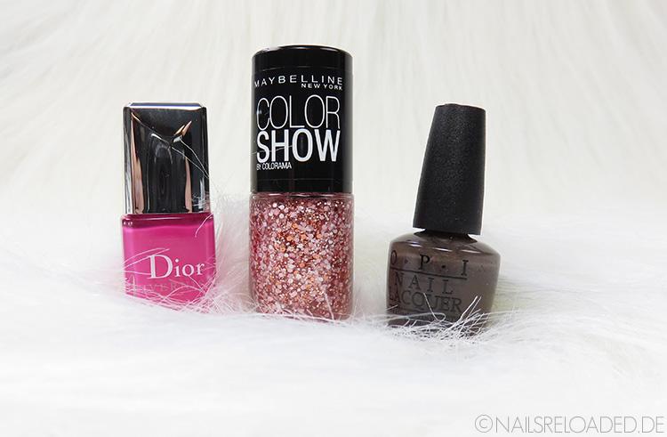 Dior, Maybelline New York und OPI
