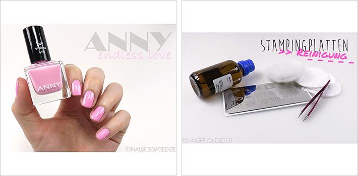 Anny - endless love und Stampingplatten-Reinigung