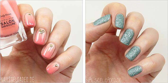 Gradient Nails und 'aquatic glam' von BeYu