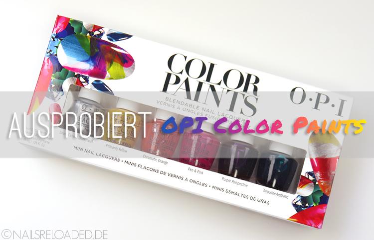OPI - Color Paints