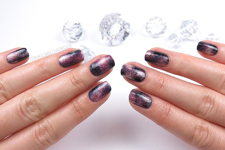 Nageldesign - galaxy nails