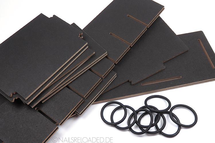 Stiftebox - Einzelteile