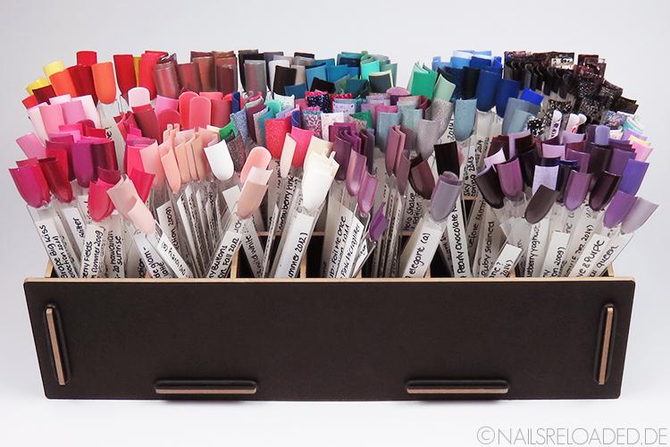 Stiftebox - gefüllt mit Nagelsticks