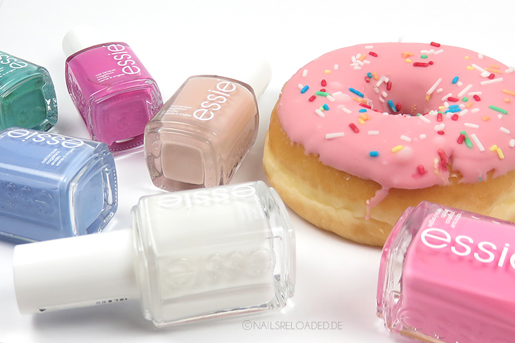 Nageldesign - Donut Nägel