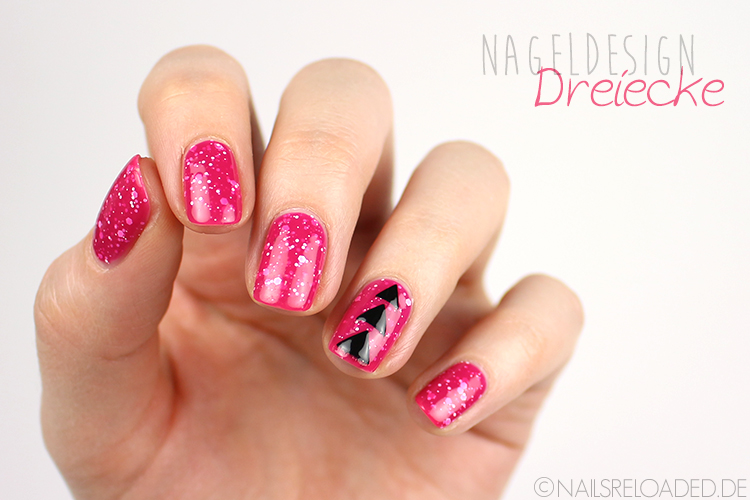 Nageldesign - Dreiecke