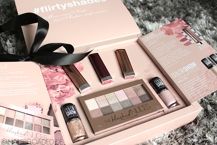 Maybelline New York - THE blushed NUDES
