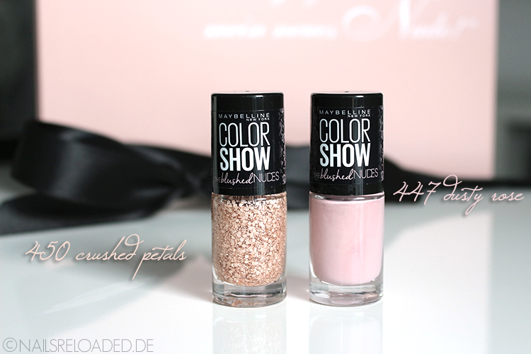 Maybelline New York - 450 crushed petals - 447 dusty rose