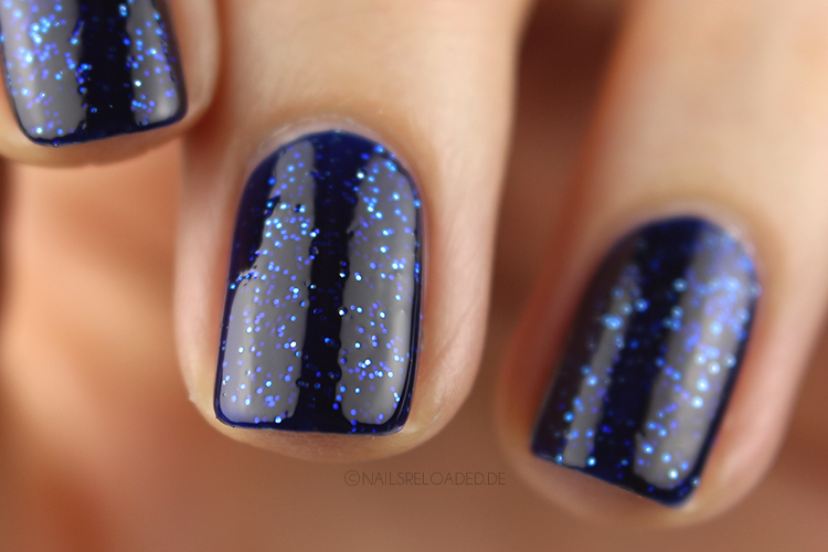 Essie - starry starry night (mit Topcoat)