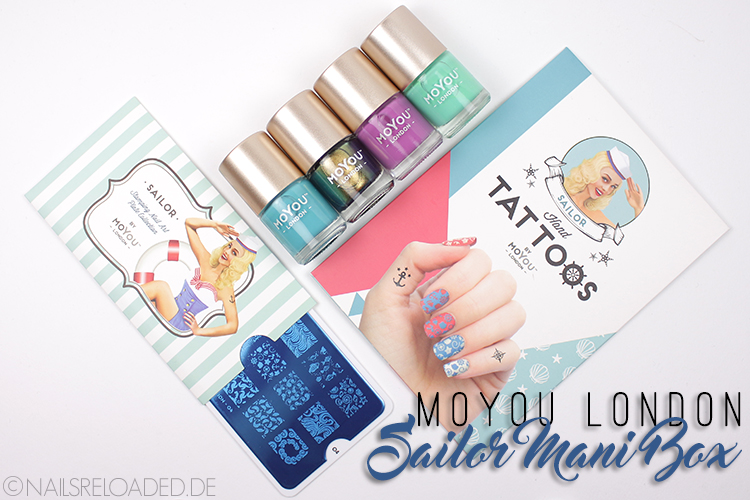 Sailor Mani Box von MoYou London