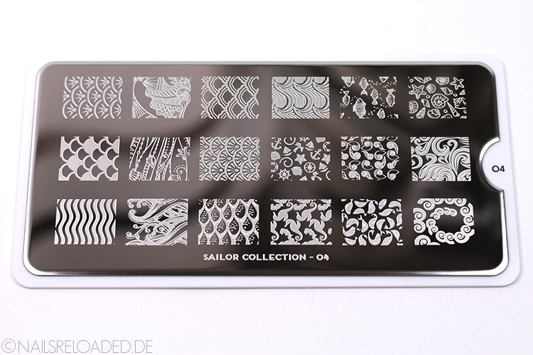 MoYou London Stamping Plate - Sailor Collection 04