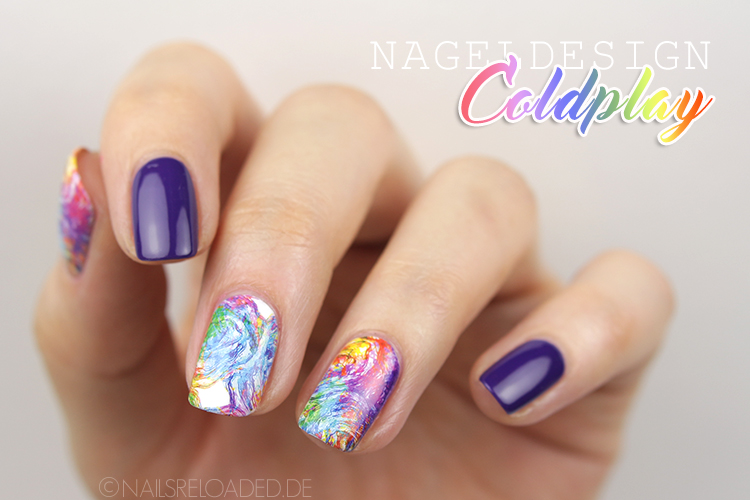 Nageldesign Water Decals